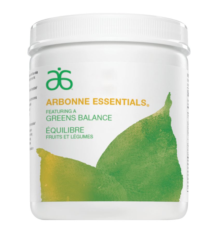 Greens Balance (#6232)    Mum always said to eat your veggies. Greens Balance makes this easy with its spectrum of proprietary colour blends of alkaline forming whole fruit and vegetable powders — delivering antioxidants, phytonutrients and fibre you need to have a more balanced, healthier diet every day. Mum would be so happy.