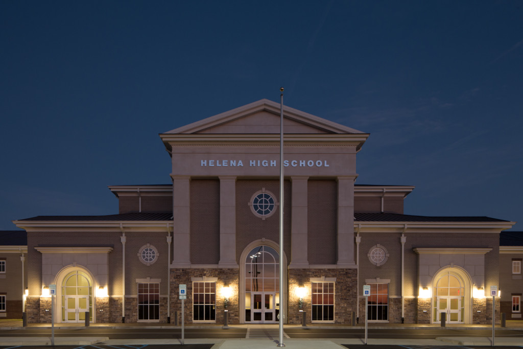 Helena High School Blue Hour Before