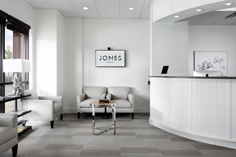 Jones Orthodontics - Interior of orthodontics practice in Pelham Alabama