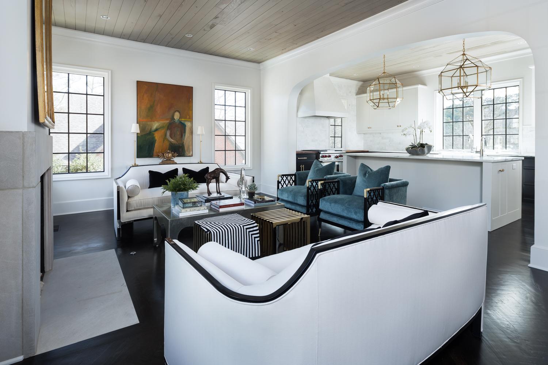 Pine Crest - Mountain Brook Alabama luxury home photographed for Chickadee Interiors