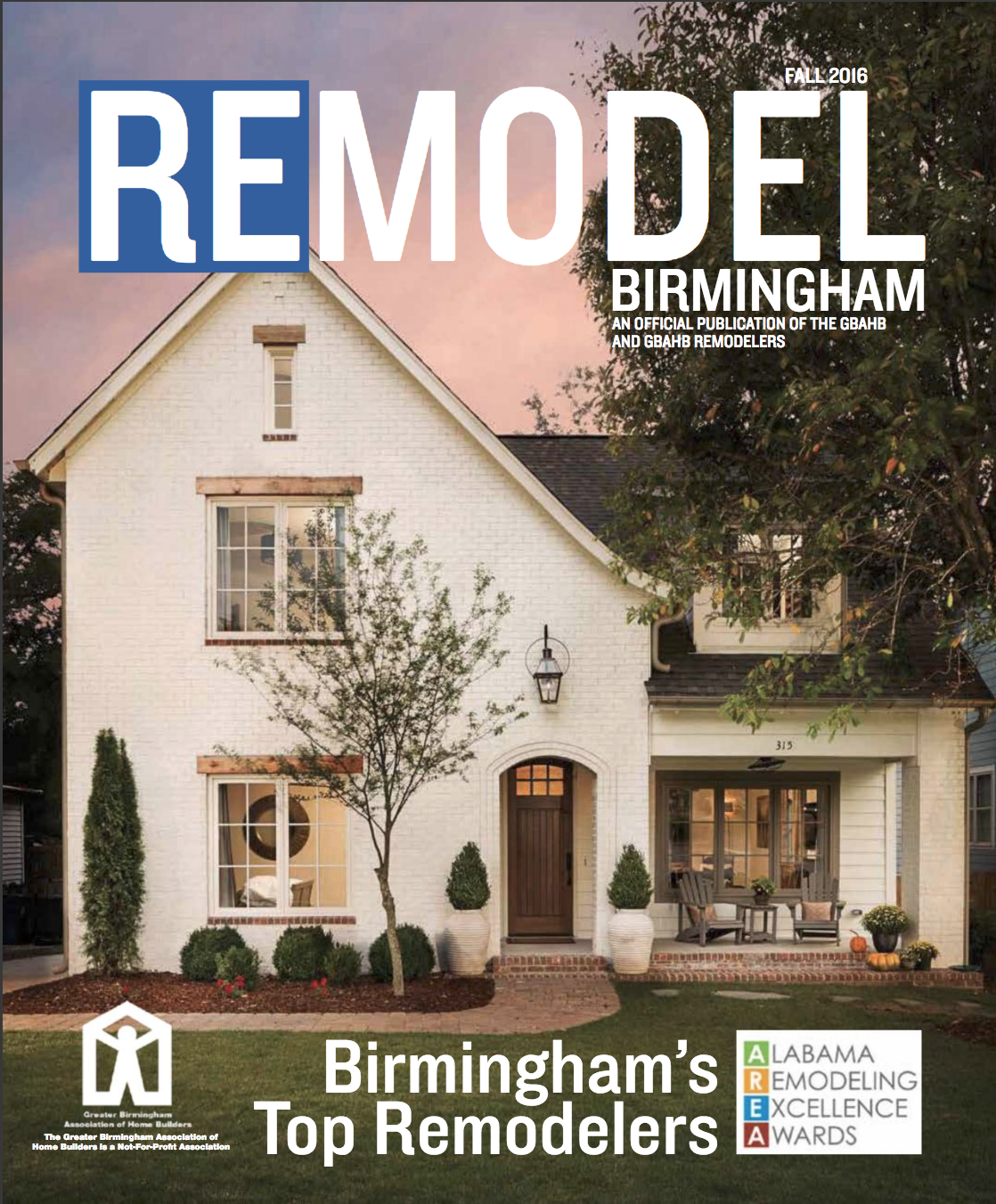 Cover image photographed for Willow Homes and Willow Design Studio in Homewood Alabama.