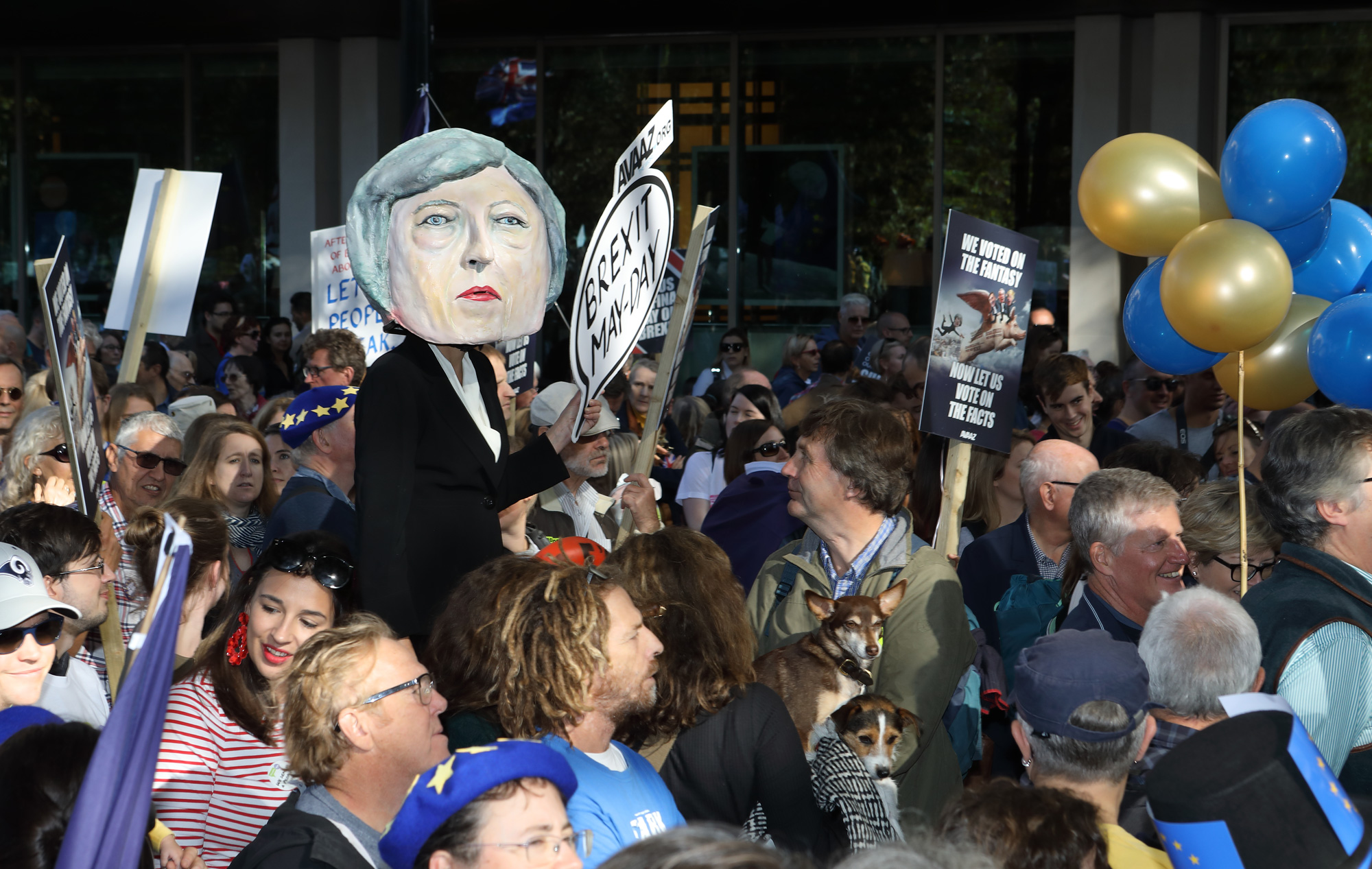 People's Vote March, London 2018