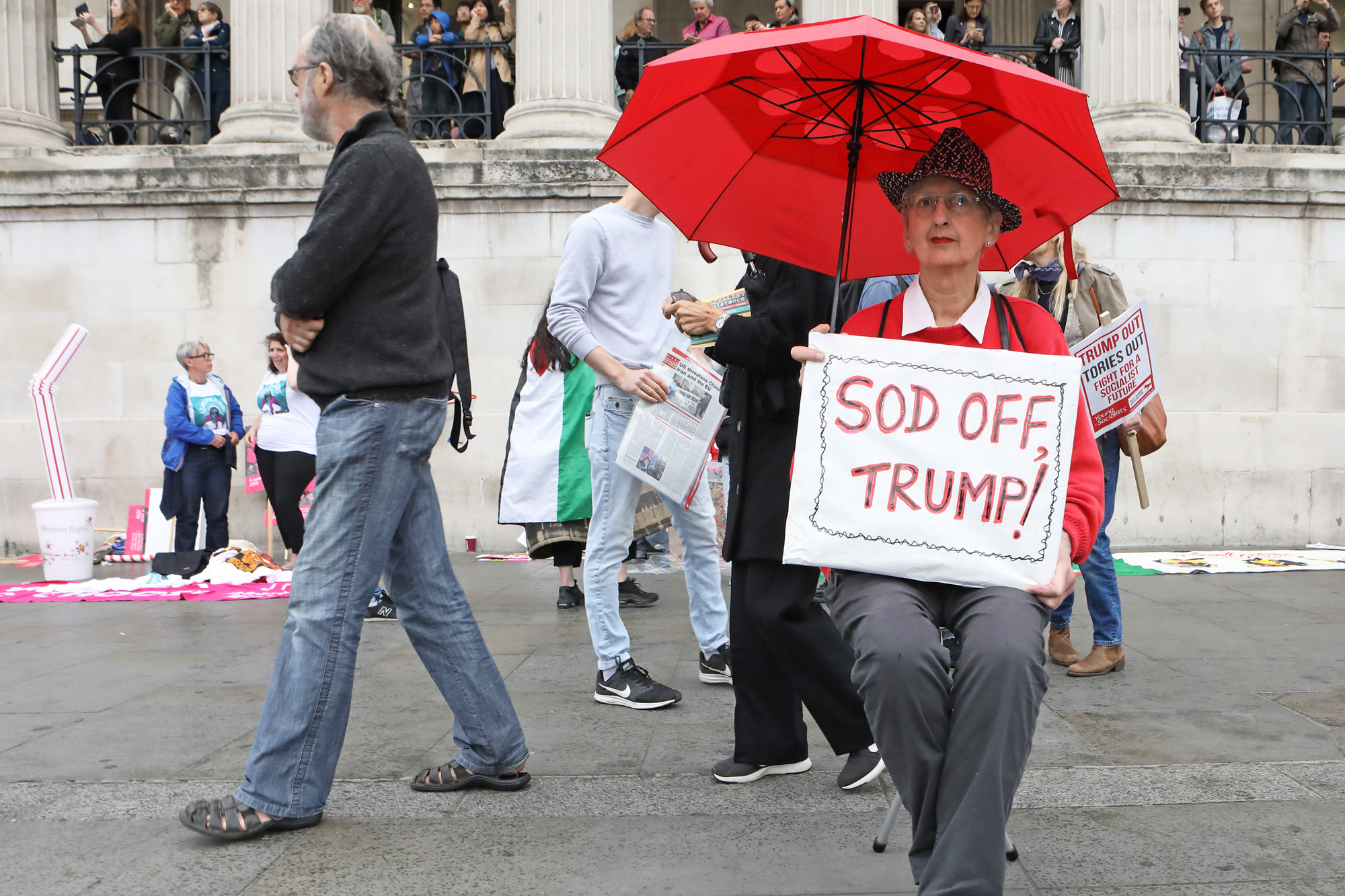 Anti-Trump March, London 2019
