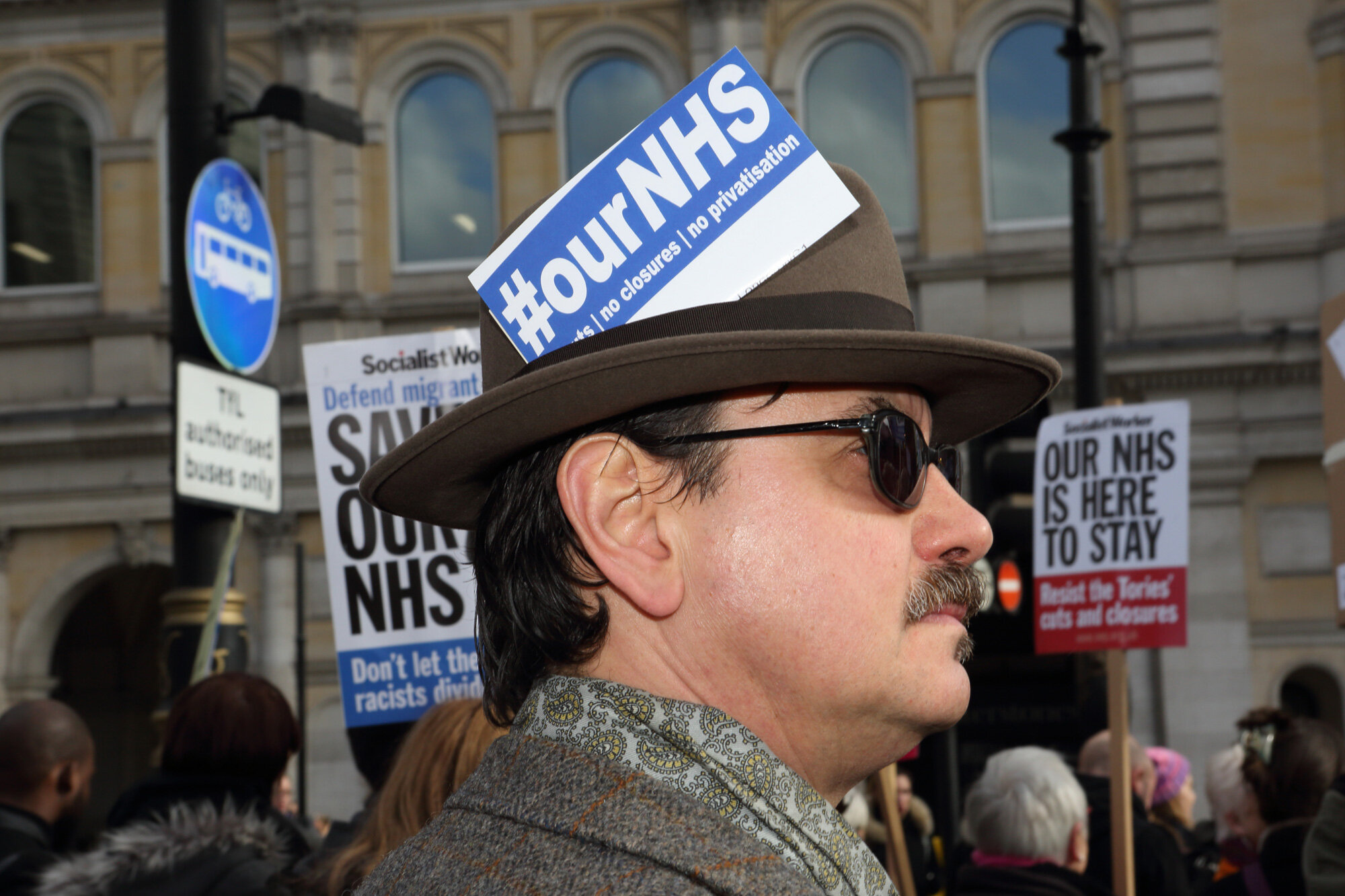 Our NHS March, London 2017