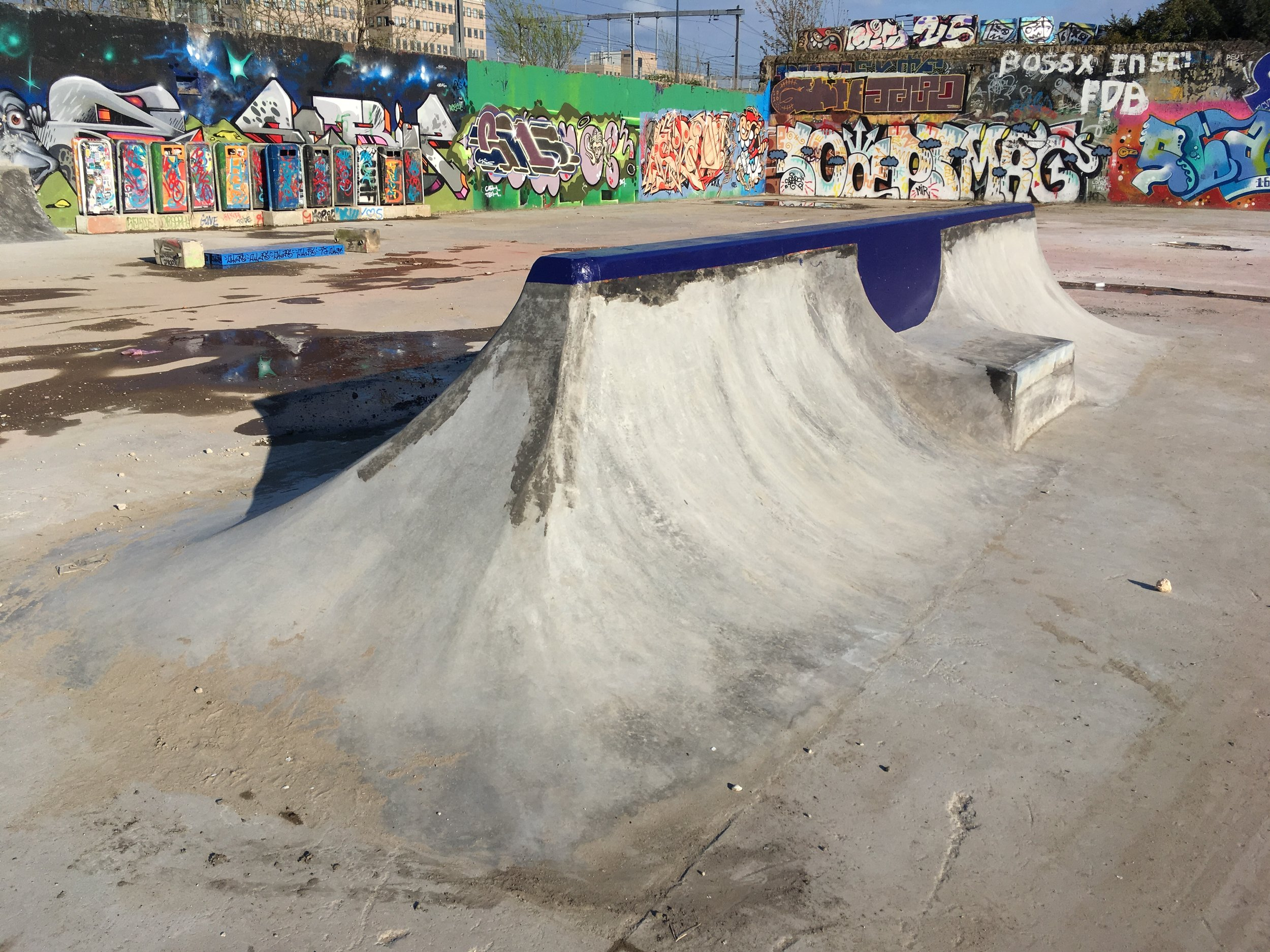 Spine Skatespot Yard