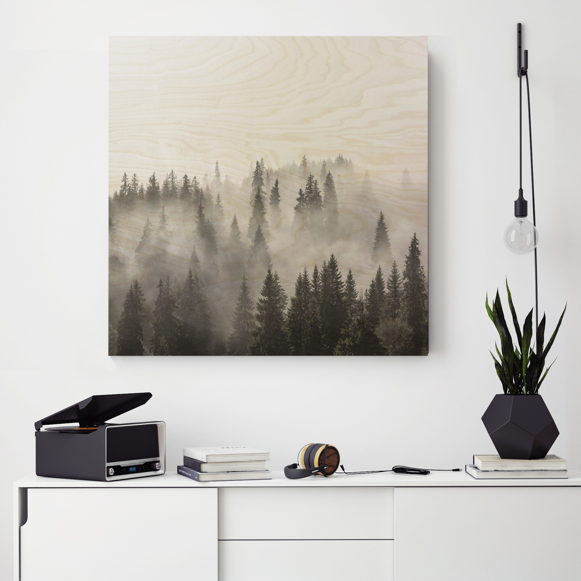 BW forest on original above sideboard.jpg