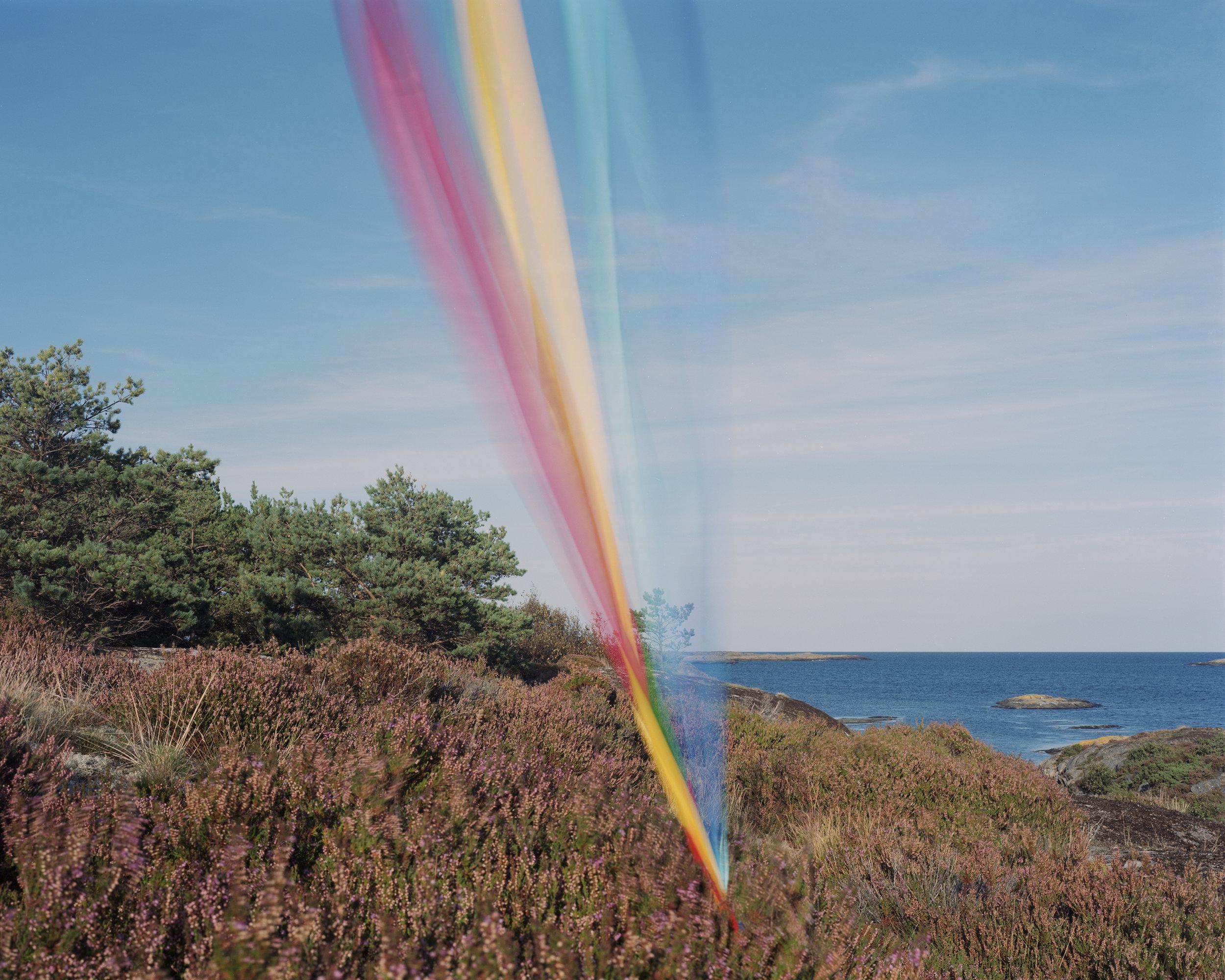 String, cloth and kite #07 2016 C-print, analog 1/18