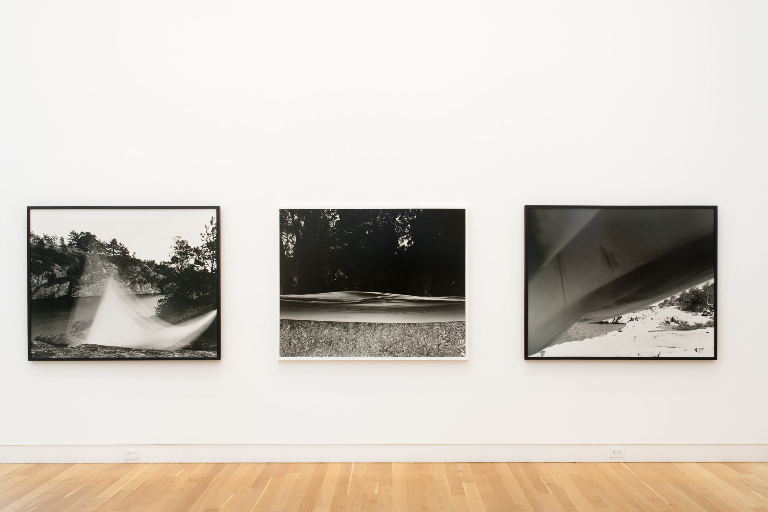 Installation view from  Dedee Shattuck Gallery, Westport, MA  All silver gelatin prints on fibre paper
