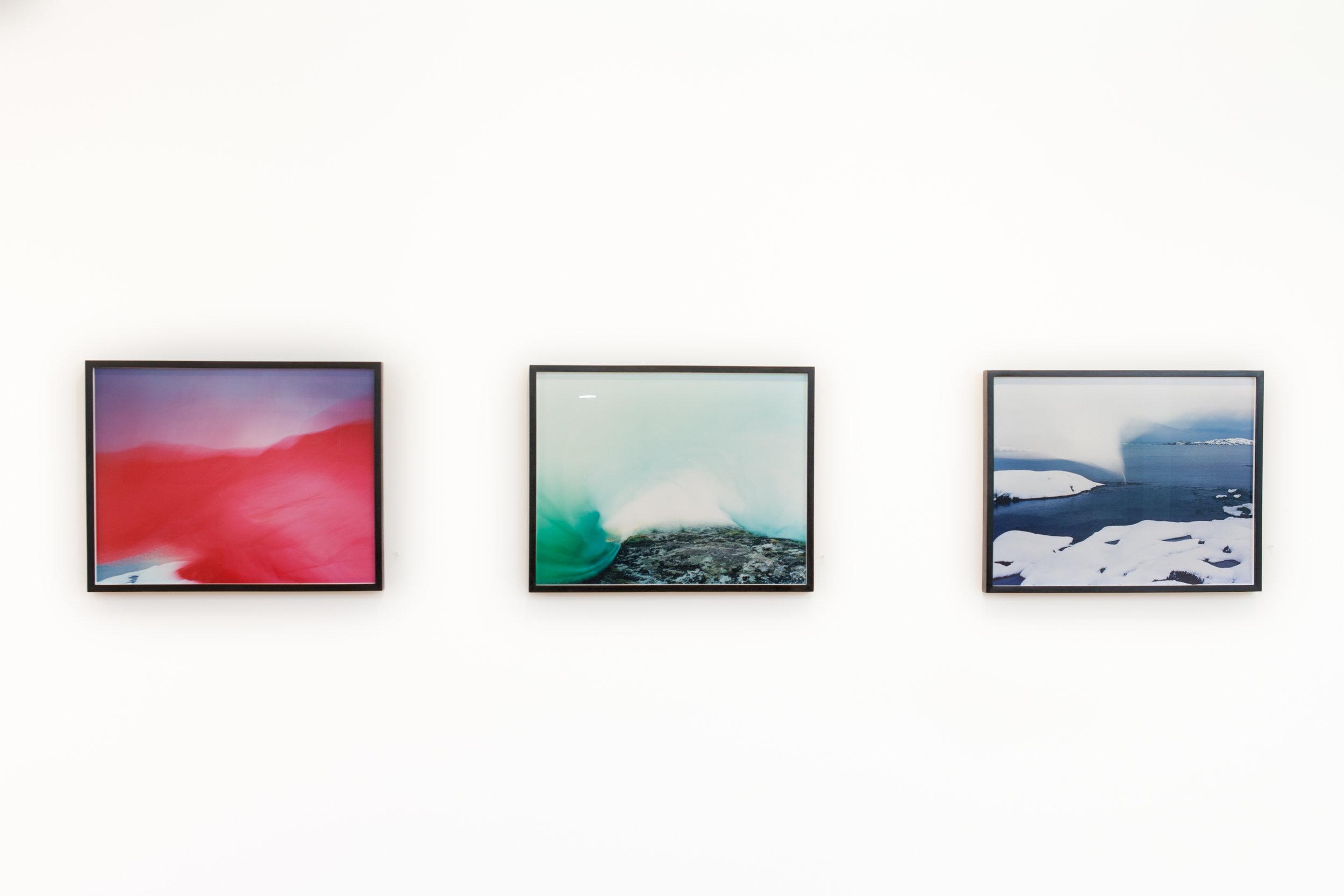 Installation view from  Dedee Shattuck Gallery, Westport, MA  All analog C-prints