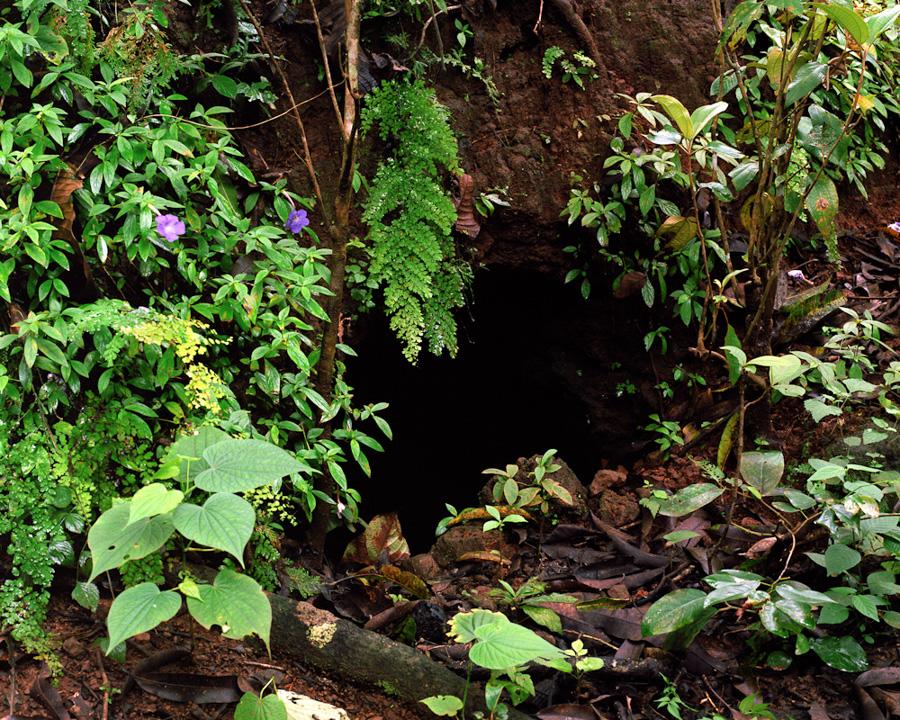 Cave Where Families Hid During Civil War , Santa Marta, El Salvador, Mark Menjivar in collaboration with Israel, 2011