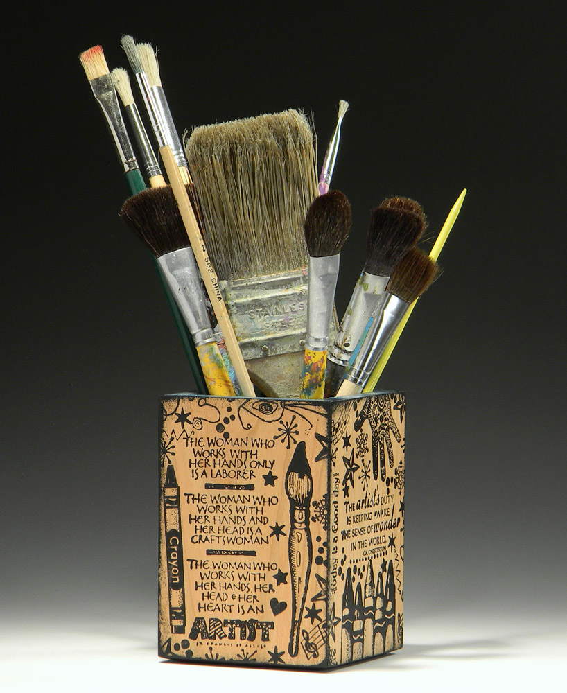 The Artist's Pencil Cup