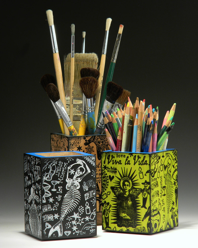Artist's Brush Holders