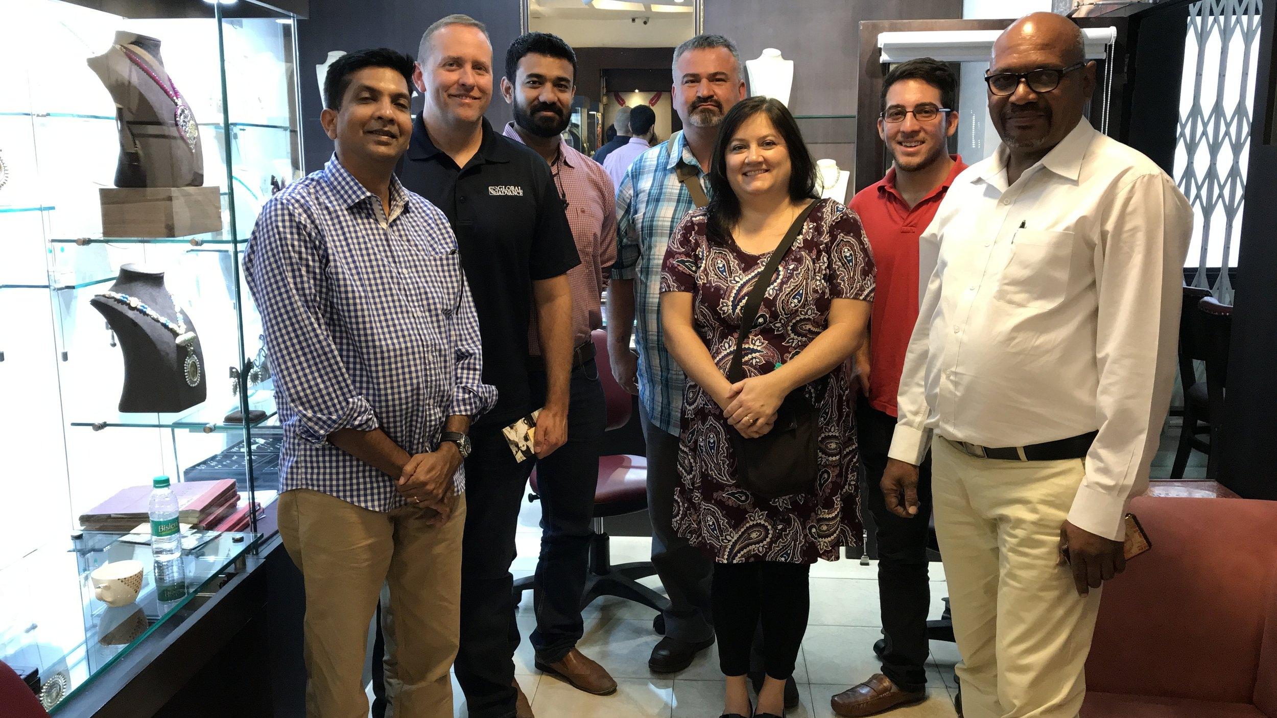 Global Advance - Rajesh Joshua with Ambassadors.JPG