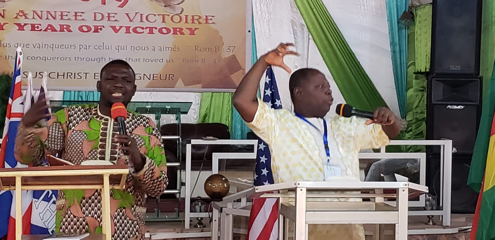 In French-speaking western Africa, the preaching can get a little demonstrative and colorful! Global Advance Frontline Pastors training events are happening all across the region this year.