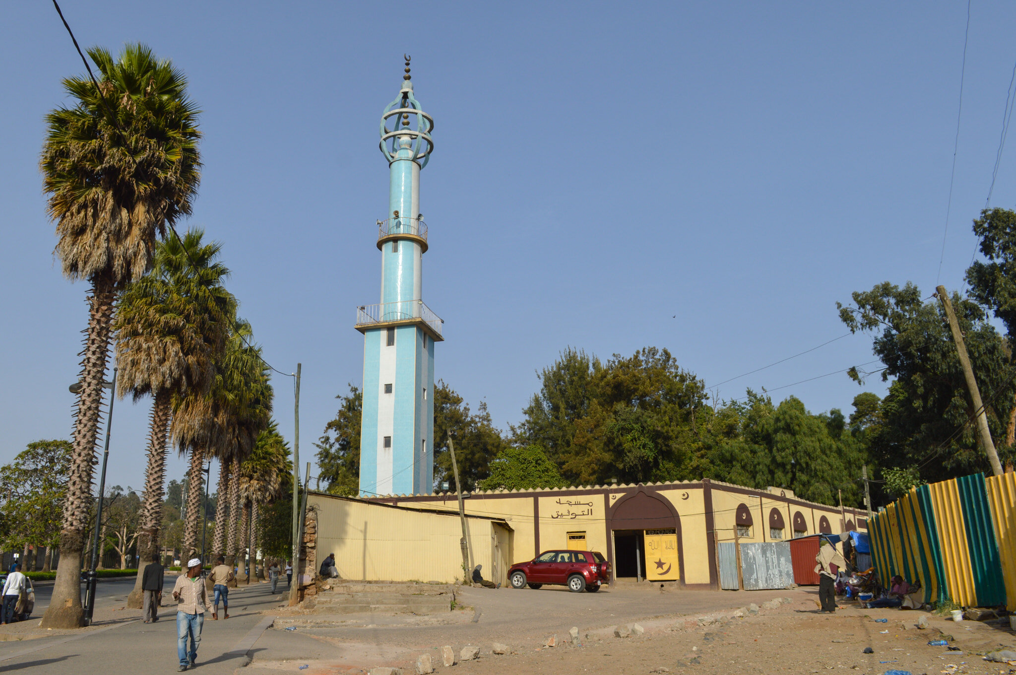 One of the many mosques found on the streets of Ethiopia, where less than 2% of the population are Christ-followers.   Photo credit