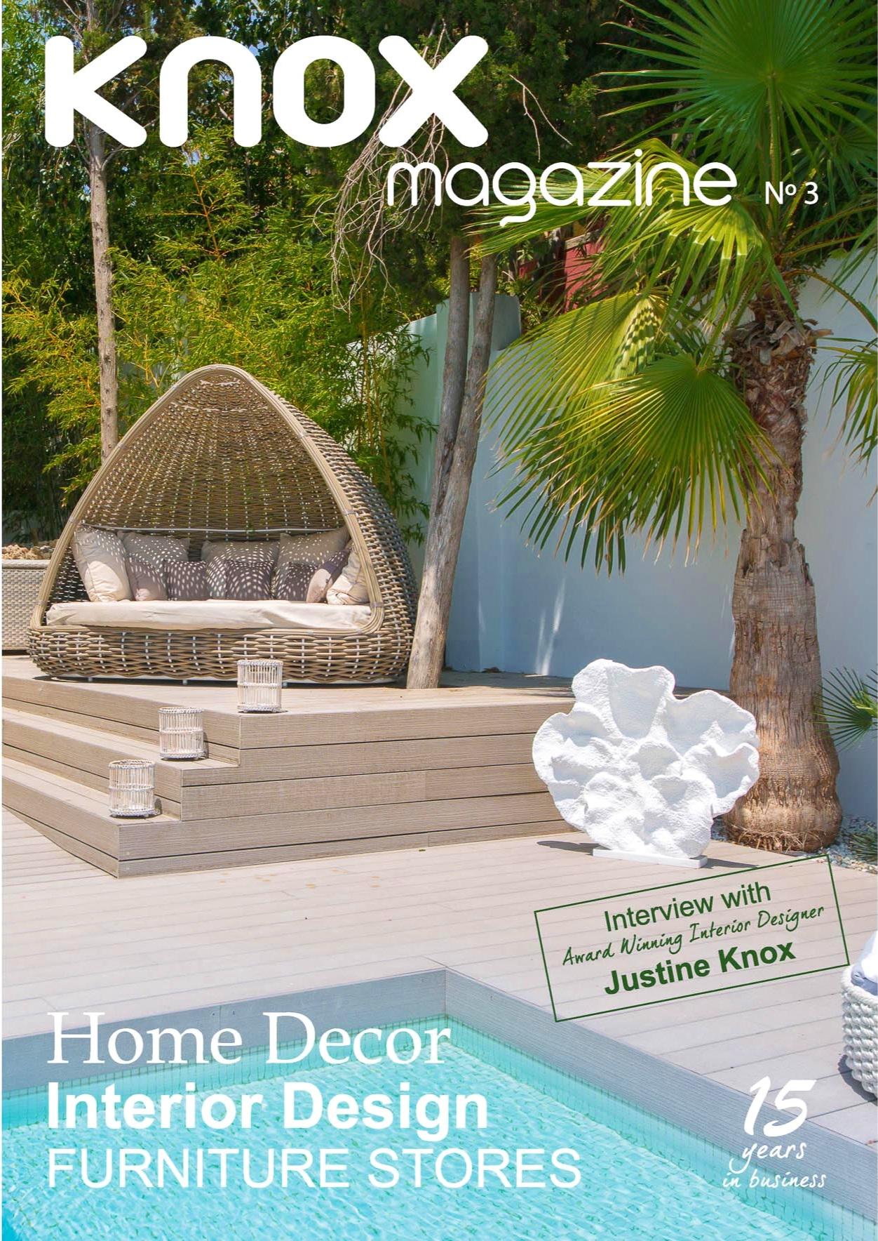 KNOX DeSIGN - magazine photography