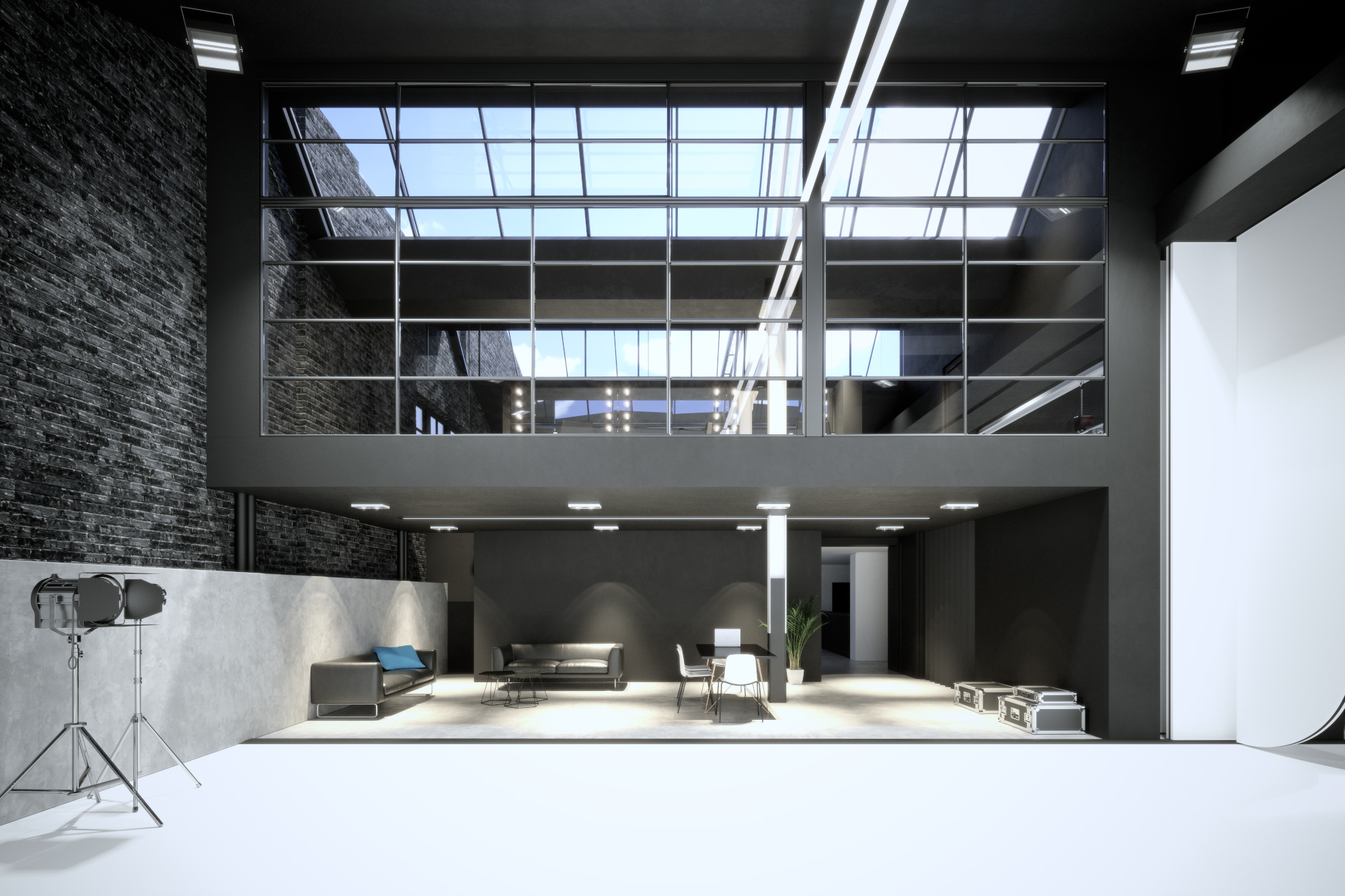 Alva Studios North    Location:  Caledonian Road    Floor Area : 2450m2 sqm   Budget:  £6m   Client:  Pro-Lighting   View More