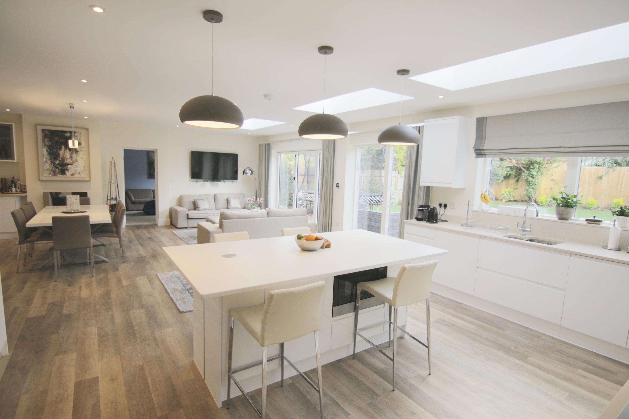 Amelia's House    Location: Dorking   Floor Area: 90m2 + Refurbishment   Budget: £250,000   Client: Amelia and Alex   View More