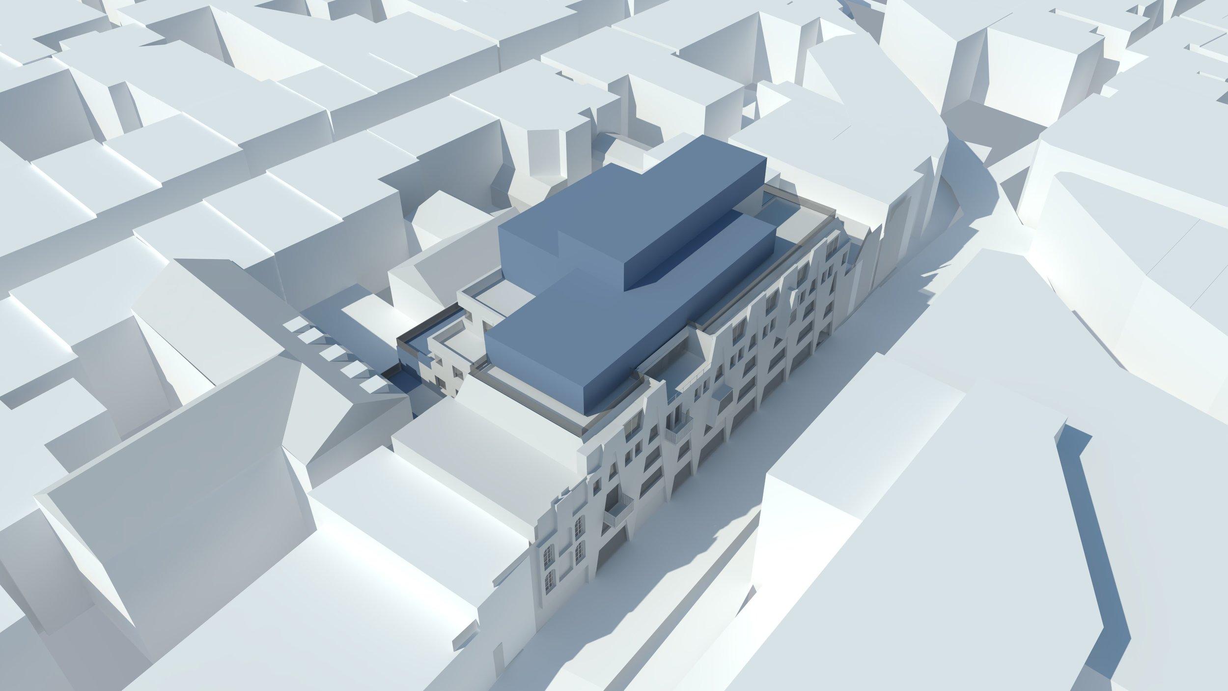 Black Lion Street Roof Extension     Location: Brighton    Floor Area: 950m2   Budget: £2m   Client: DTZ Investors   View More