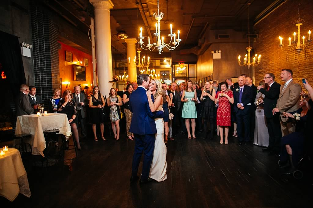 """Harding's was the perfect venue for our romantic NYC wedding.  They provided helpful insights and tailored the reception exactly how we envisioned our big day! The décor, food and service was amazing. The staff had a great energy that made our experience all the more enjoyable!""    -Kelly & John"