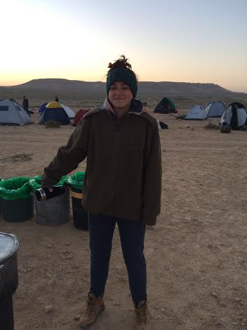 This is Grace currently freezing her ass off somewhere in the Negev. We miss you so much Grace!