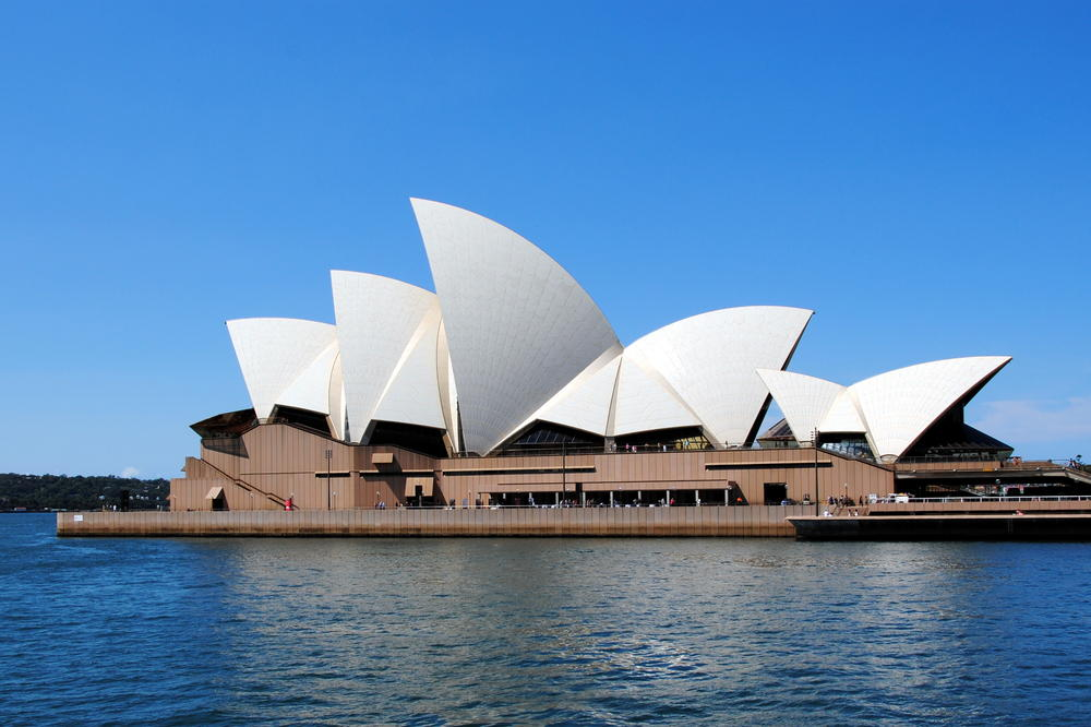 Here's a touristy picture of Australia in case you didn't already know I went to Australia