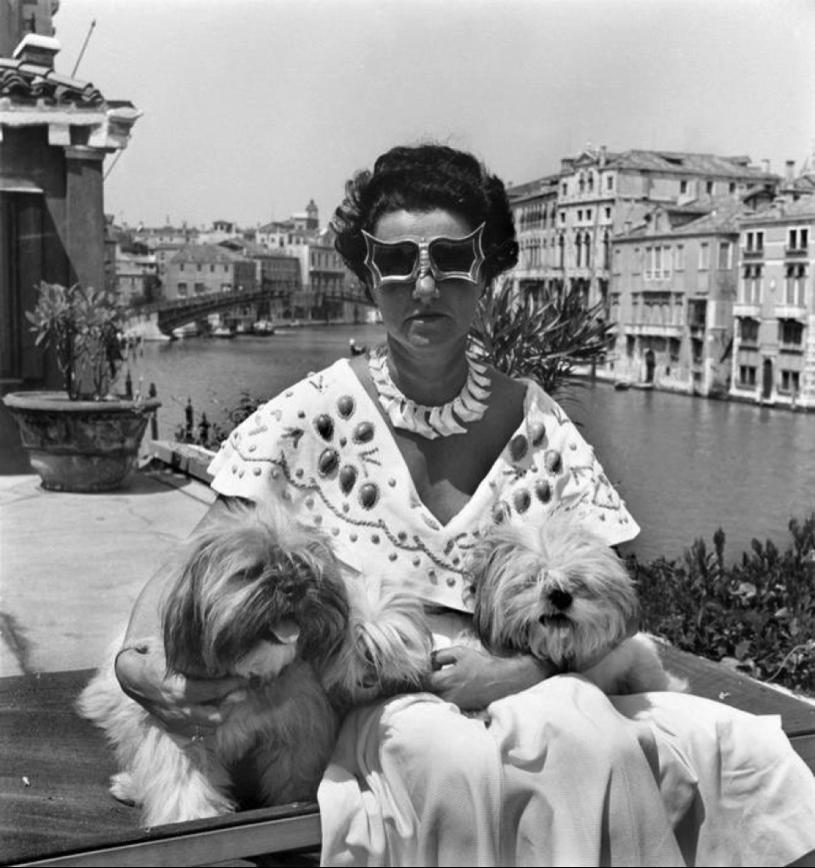Peggy Guggenheim being a boss.
