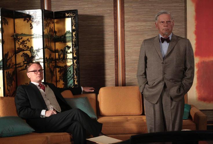 Cooper (right), Rothko's bagillion dollar painitng (even more right).