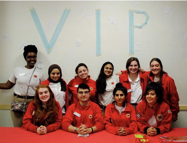 "That day we hosted a ""VIP Lounge"" for students with perfect attendance."