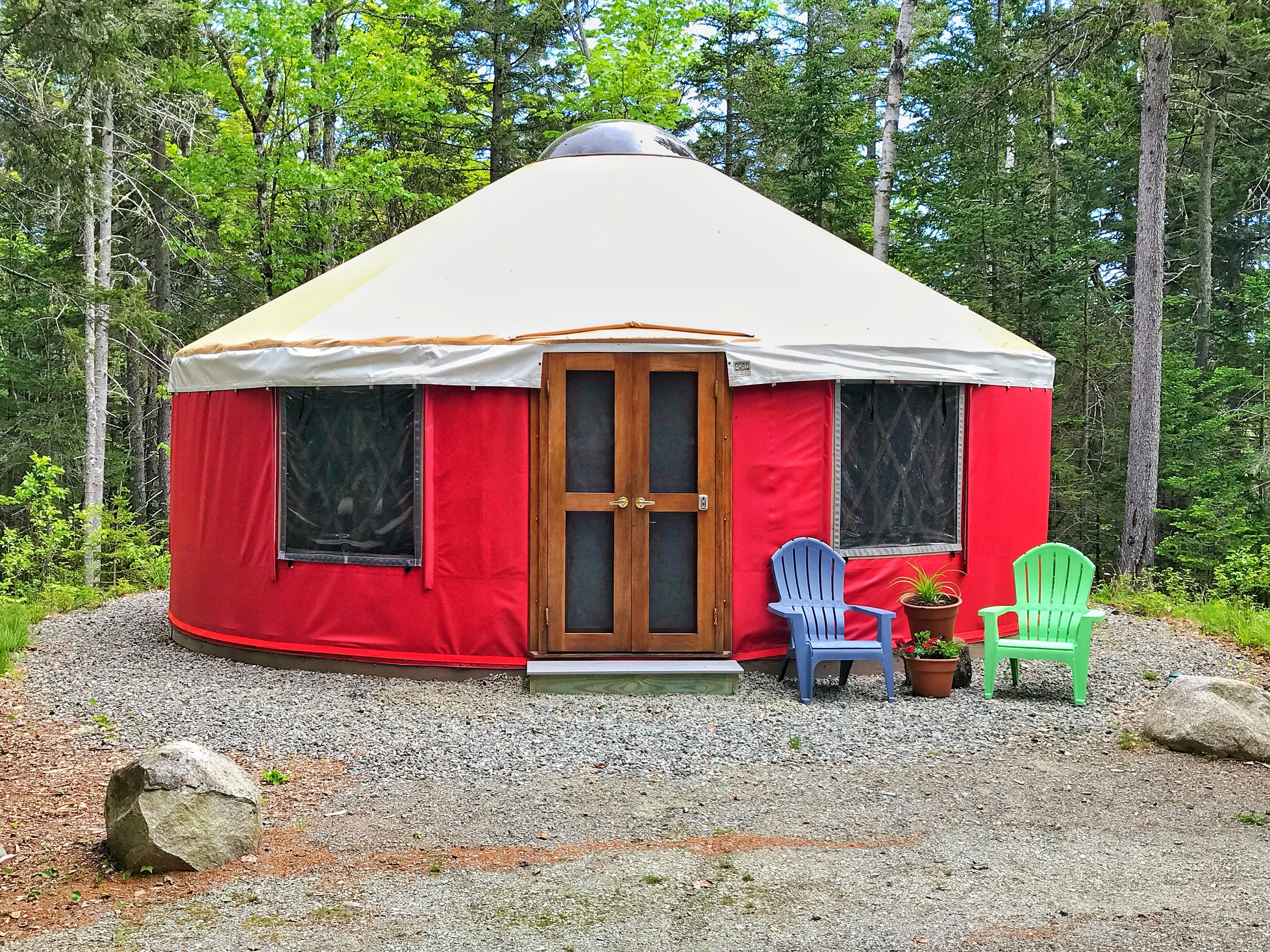 Champlain Mountain Yurt (Click the Yurt for Rates, Availability and to Book!)