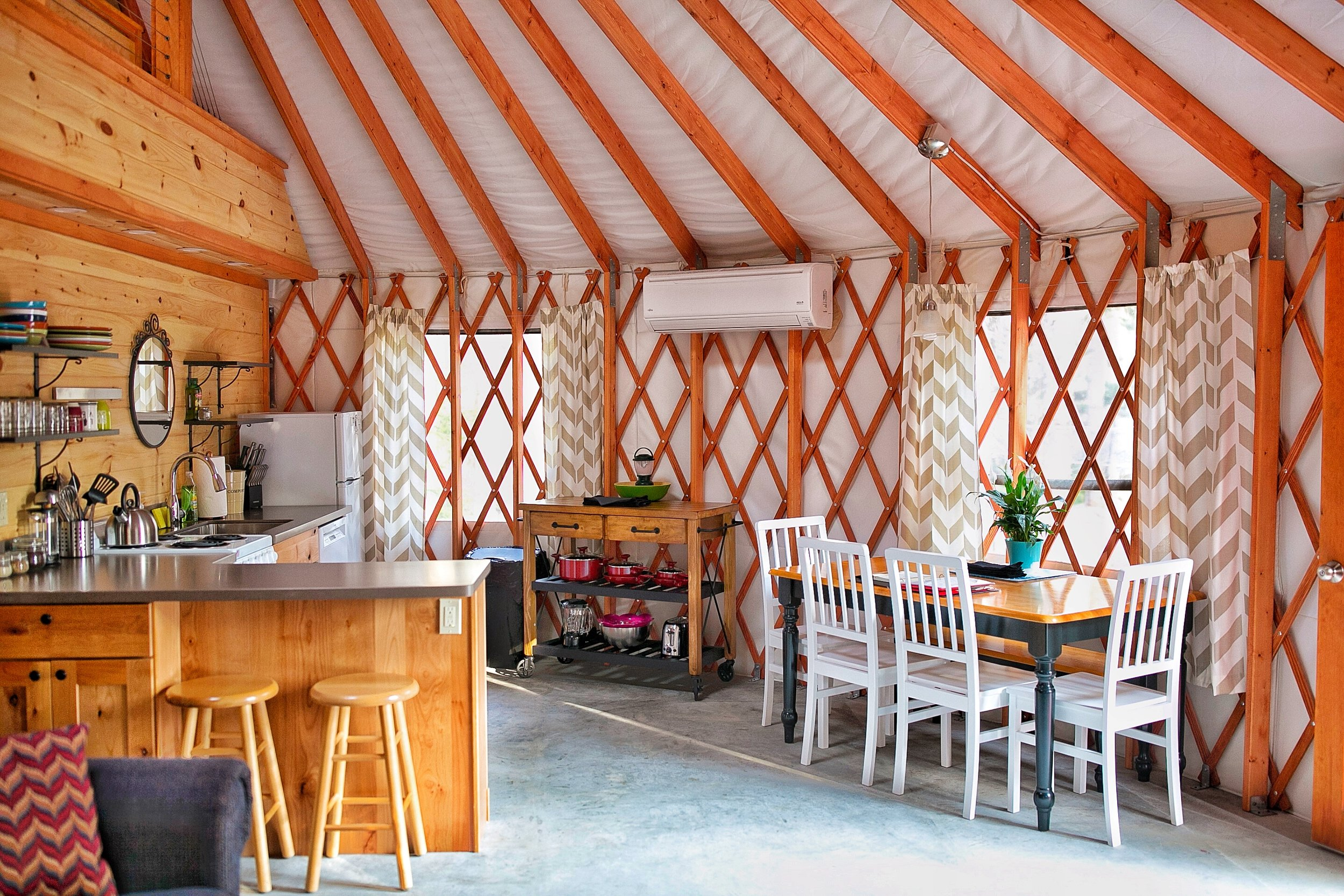 Acadia Yurts
