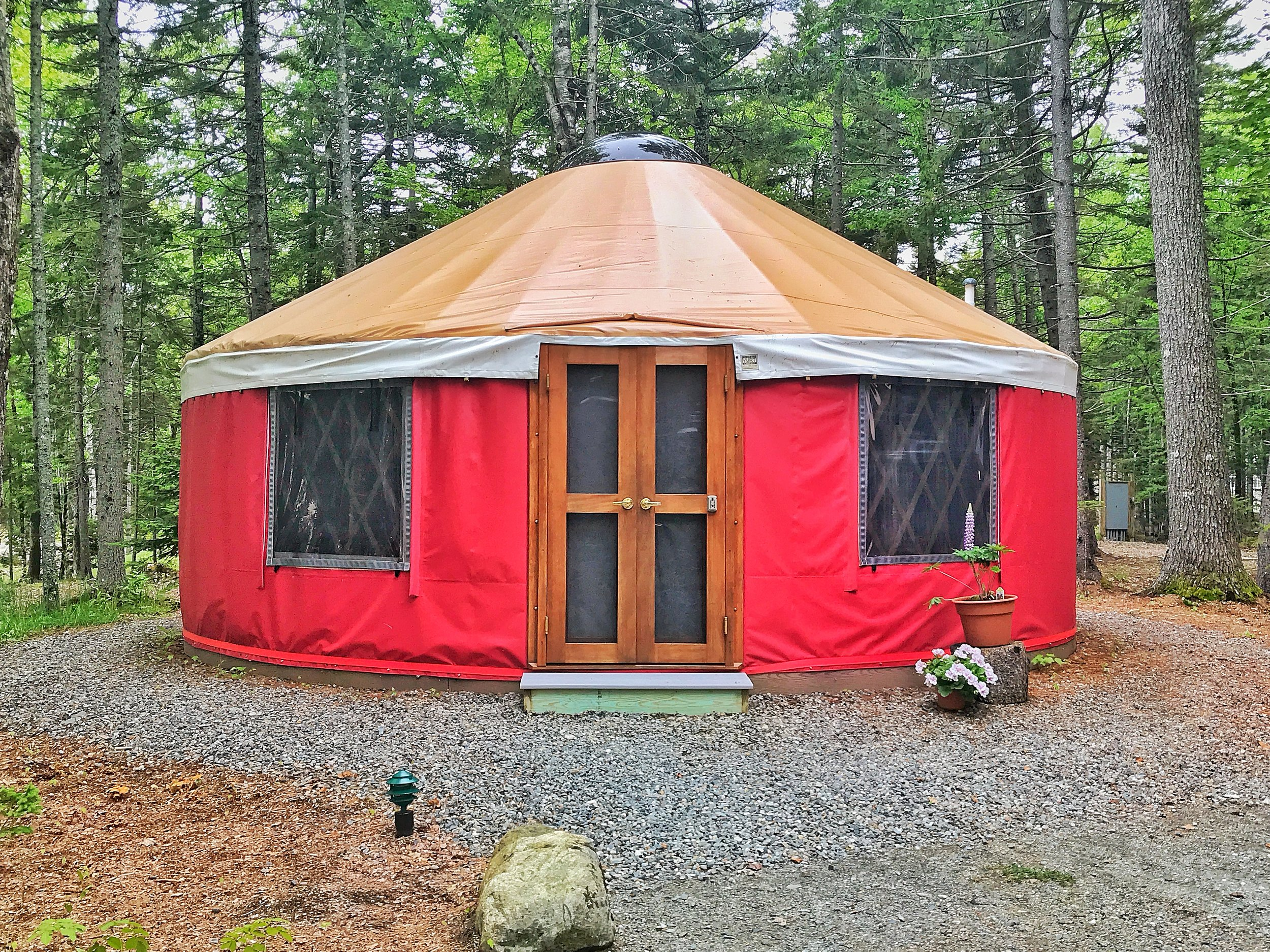 Cadillac Mountain Yurt (Click the Yurt for Rates, Availability and to Book!)