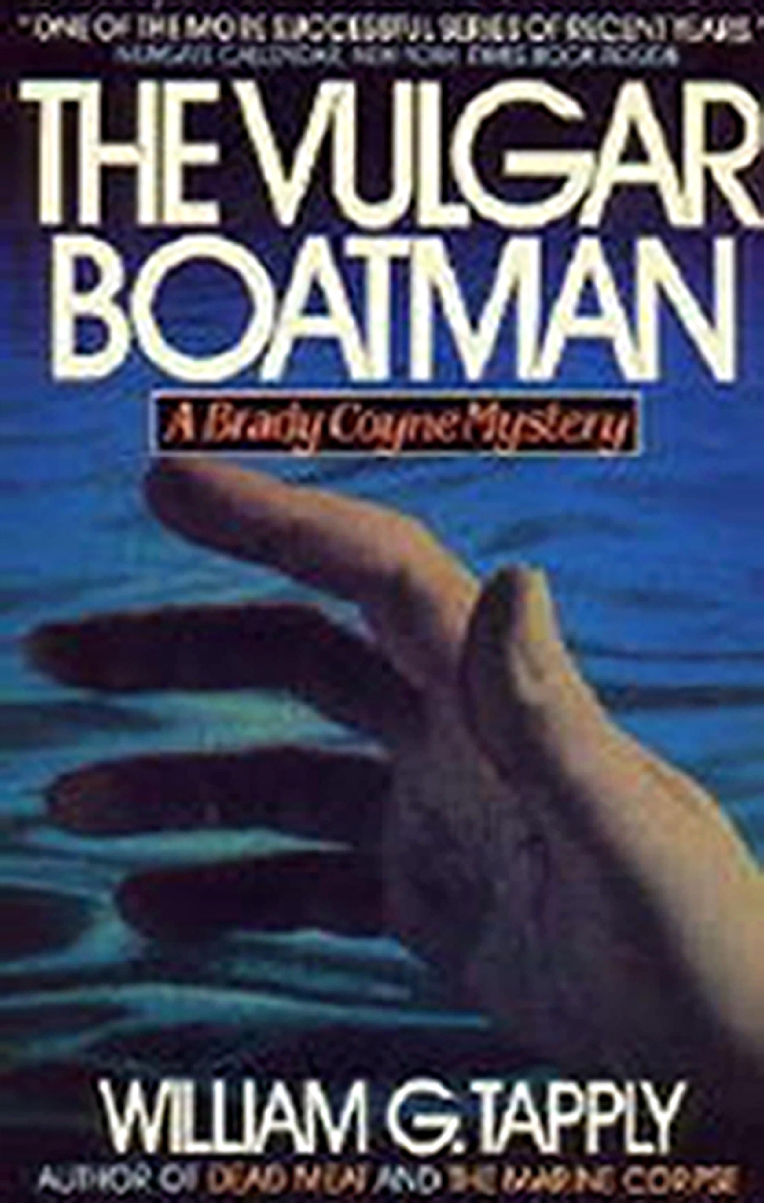 Tapply, mystery, novel, Vulgar Boatman, suspense, thriller