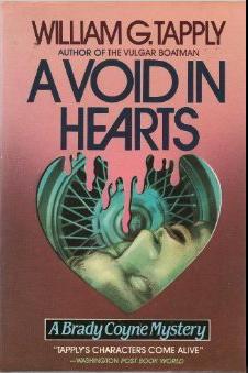 Tapply, mystery, novel, Void in Hearts, suspense, thriller