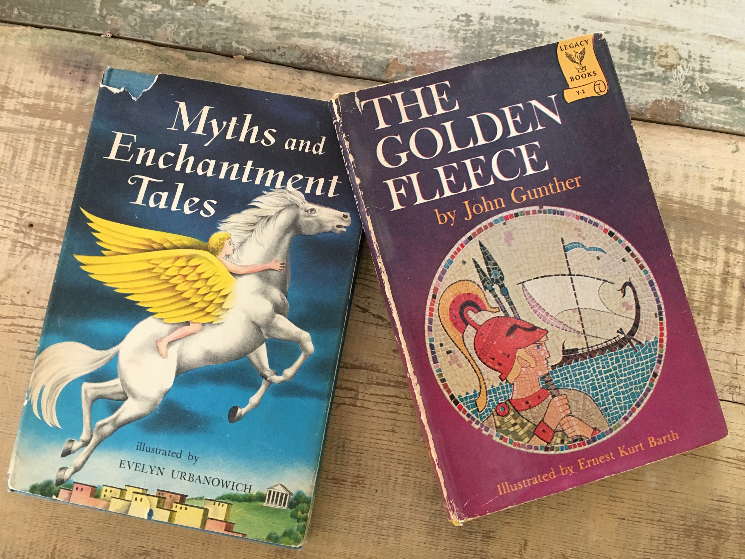 When I was 10, I received these two books, birthday gifts from my parents.