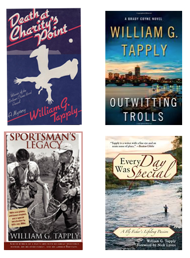 William G. Tapply books—all of them!