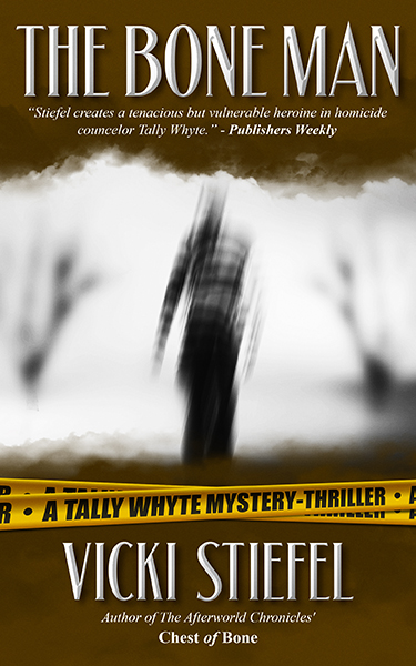 The Bone Man is out! - When Tally sees a forensic reconstruction of a murder victim, she must unravel how a centuries-old pot held a modern woman's skull and unearth an ancient prize worth killing for.