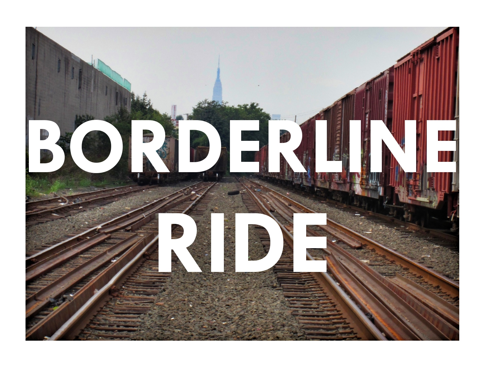 Straddle that saddle, and let's hit the Brooklyn/Queens border