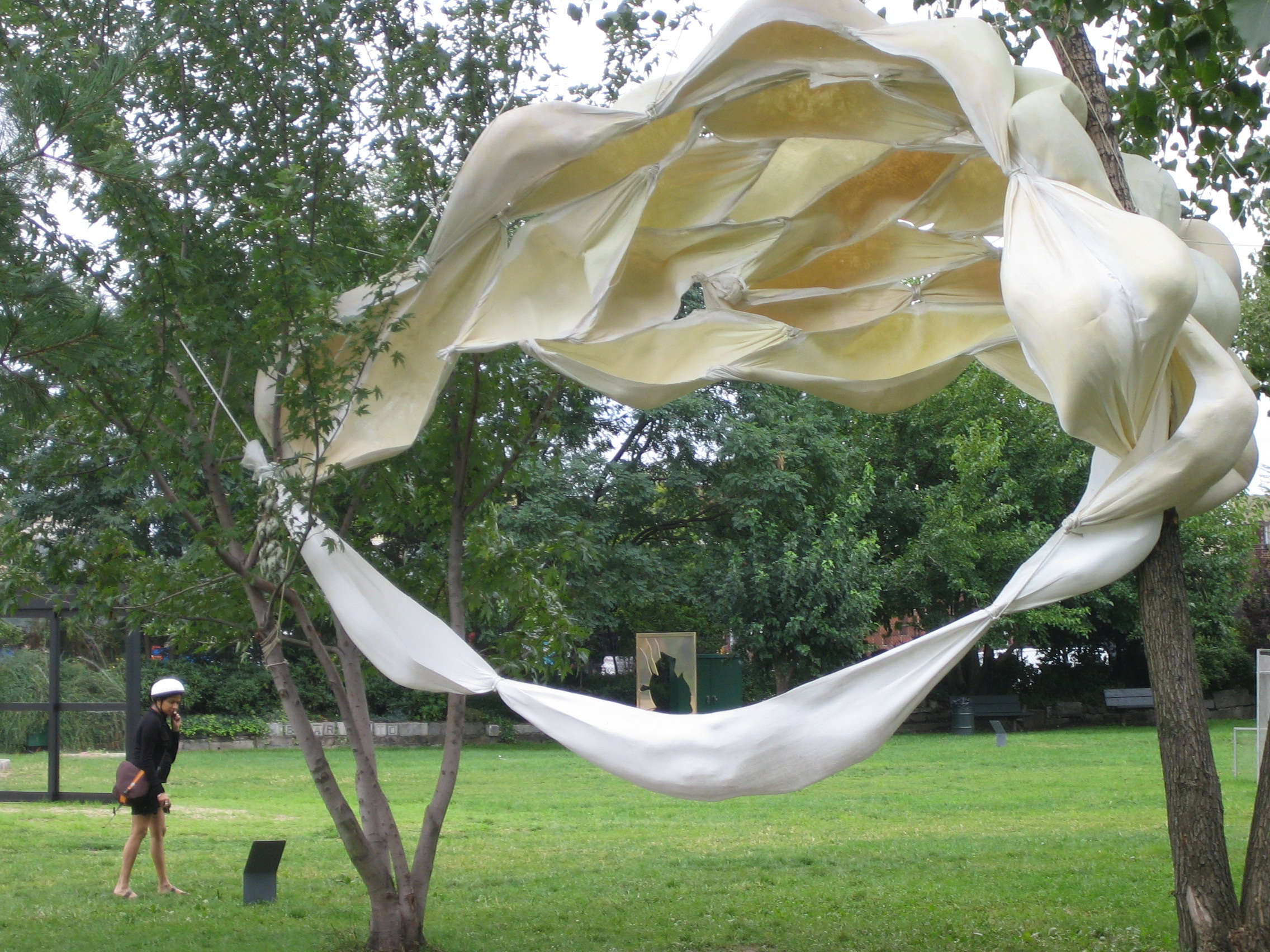 There's always something to be found in Socrates Sculpture Park