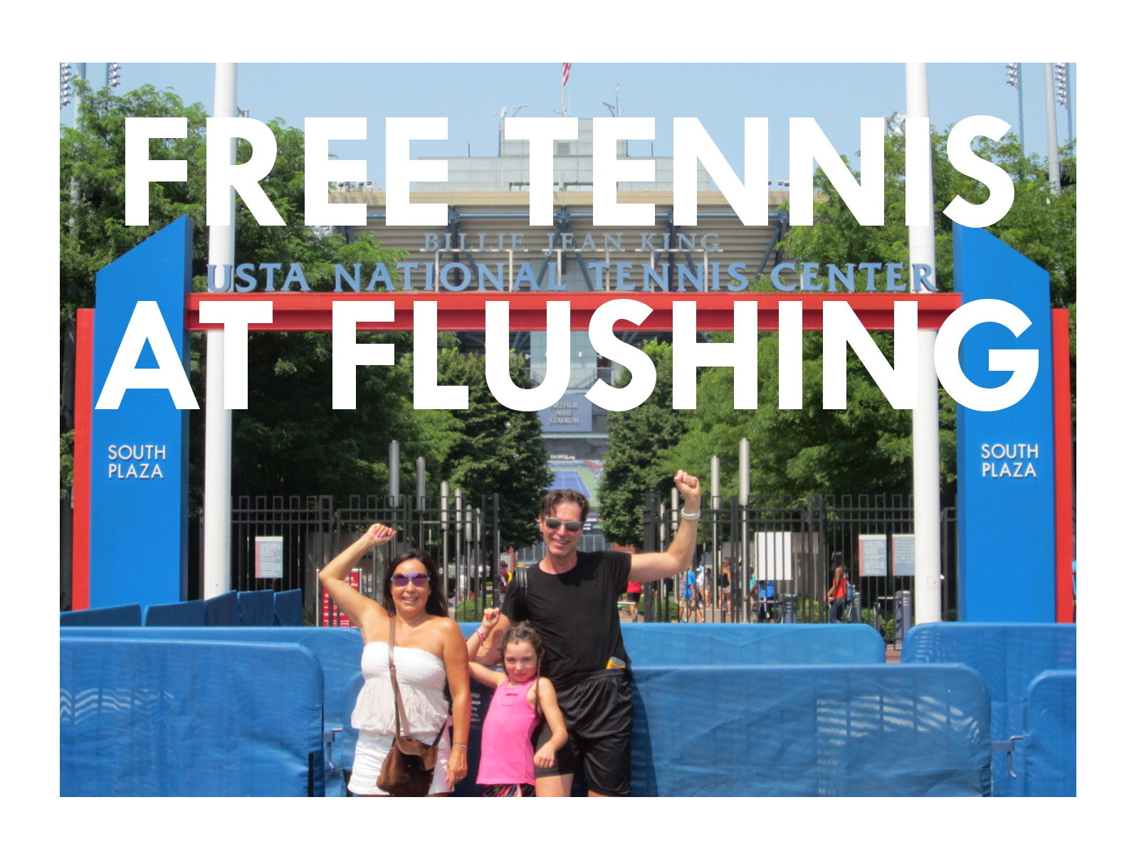Get your free tennis on!