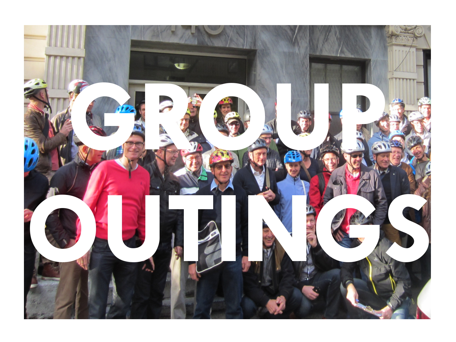 Team building rides& charity events