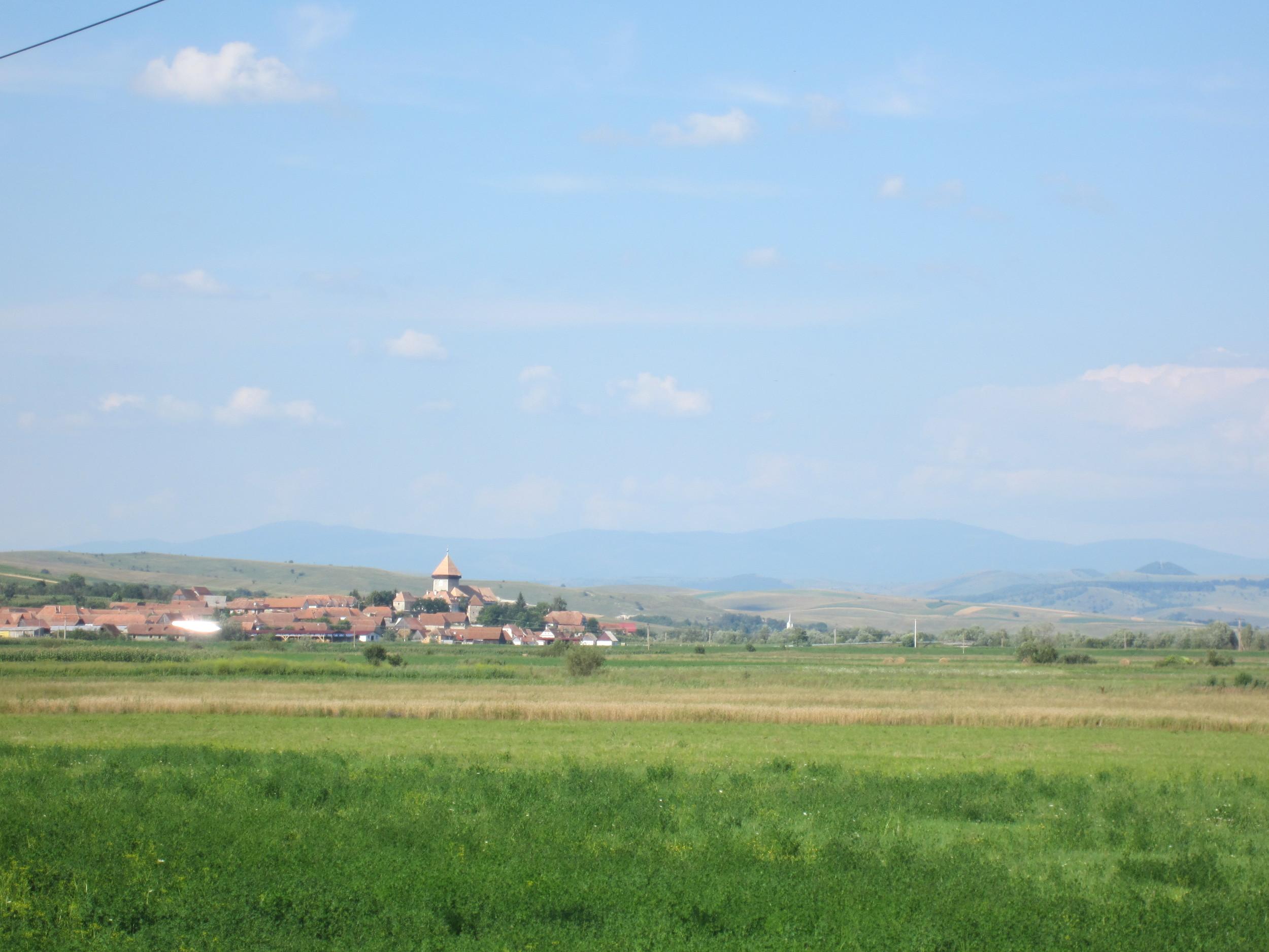 The Transylvanian countryside.