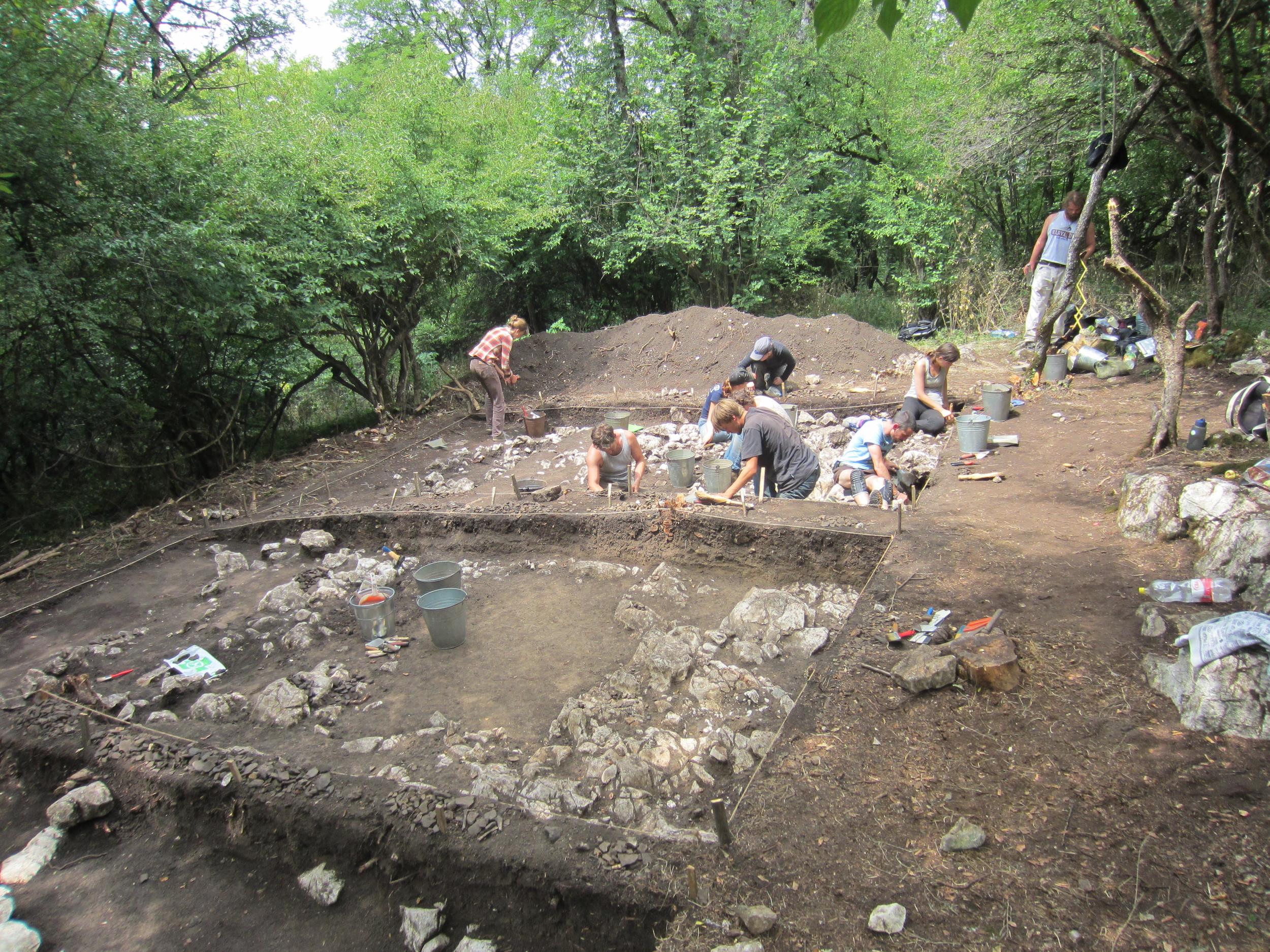 Unearthing the Dacian settlement
