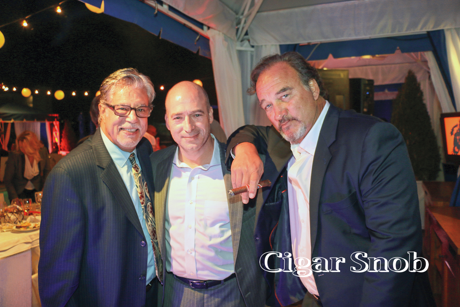 Vincent Guastaferro, Craig Weiss and Jim Belushi