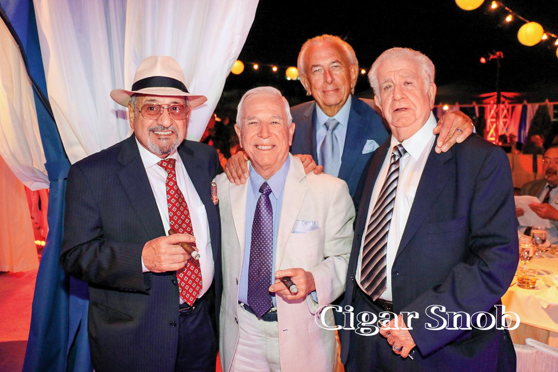 Carlos Fuente Sr., Juan Lopez, Frank Mancuso Sr. and Luis Garcia