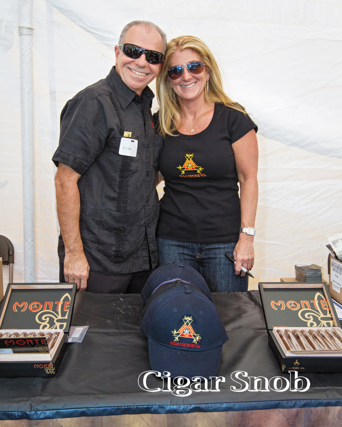 Altadis USA's Mike Ronessi and Jill Myers