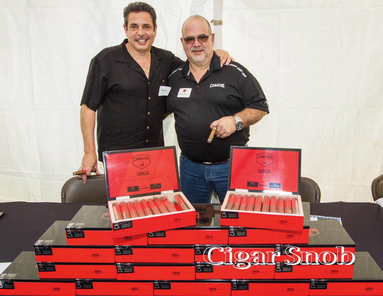 Davidoff's Pedro Wagner and Oscar Sanabria