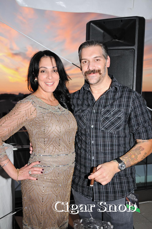 Janny Garcia and Pete Johnson
