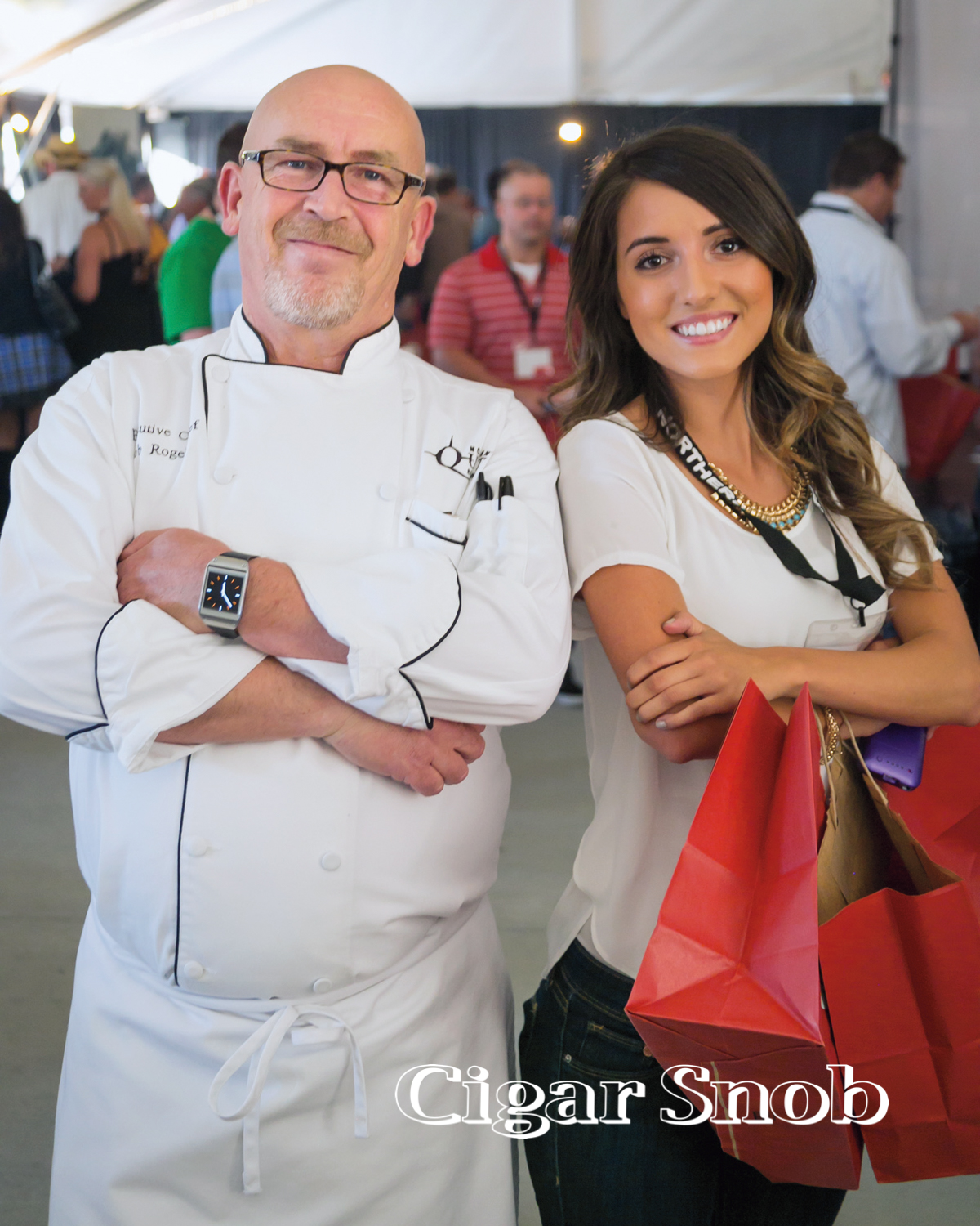 Northern Quest Exec. Chef Bob Rogers and Rachel Snelling