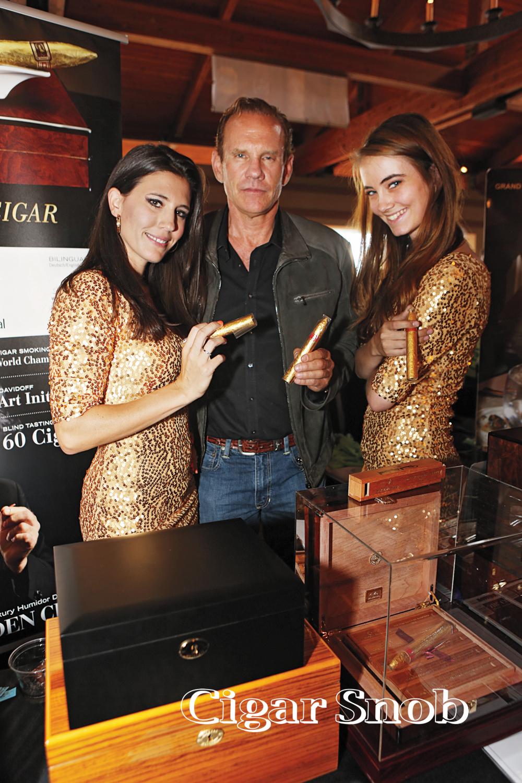 Daniel Marshall and his golden girls.
